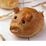 """Worstenbrood """"Miss Piggy"""""""