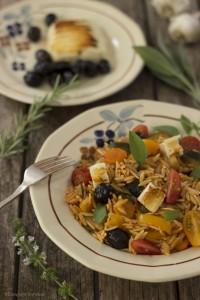 vegetarisch koken - Griekse groenten-ovenschotel