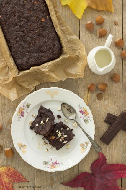 Brownie zonder bloem, ei, boter