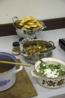 Workshop Indiaas koken - Raita pappadum