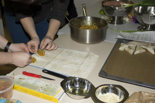 Workshop Indiaas koken - Samosa maken