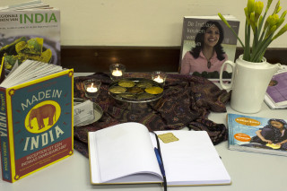 Workshop Indiaas koken - boeken