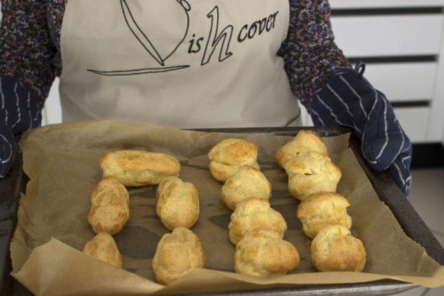 Soezen - gebakken soezen en eclairs