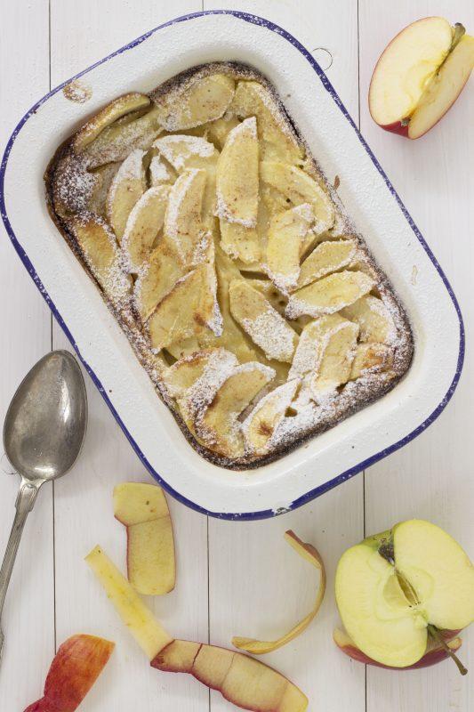 Dishcover - kookworkshops - clafoutis van appel