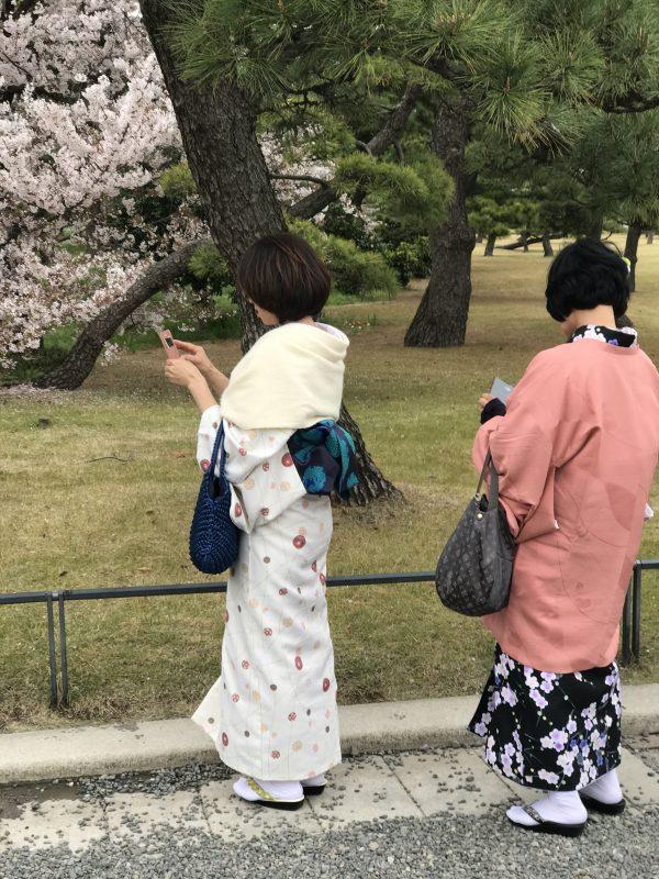 Tokyo - traditionele klederdracht