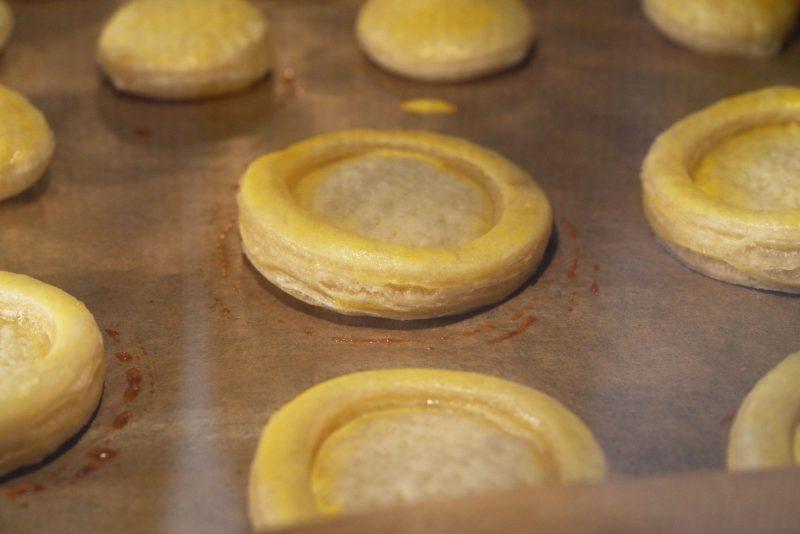 Aardbeientaartjes - in de oven