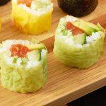 Mamenori sushi in verschillende kleurtjes
