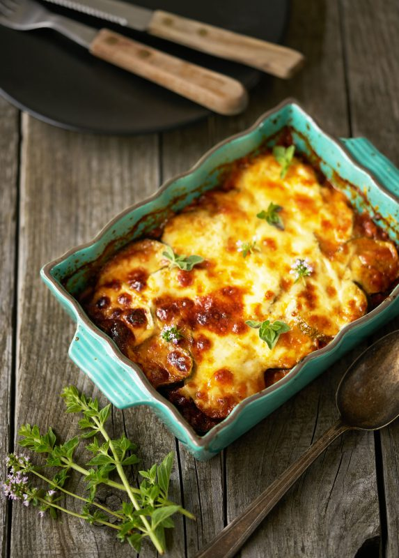 Moussaka met courgette