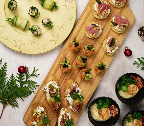 feestelijke aperitiefhapjes